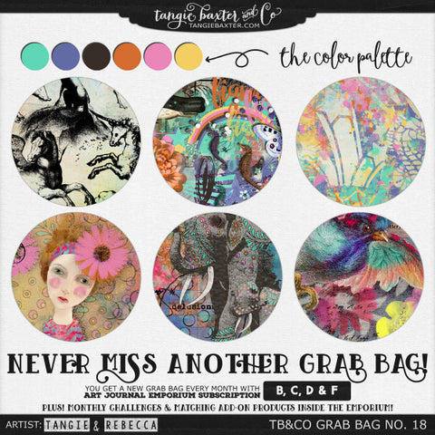 FEBRUARY GRAB BAG NOW AVAILABLE – Tangie Baxter & CO