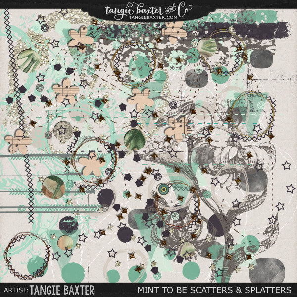 Mint To Be-Scatters & Splatters