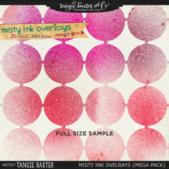 Misty Ink Overlays {Mega Pack}