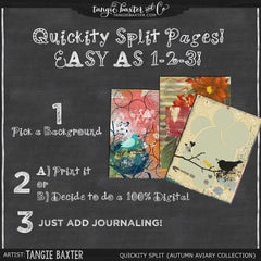 Quickity Split Refill {Autumn Aviary Collection}