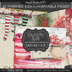 Quickity Split Refill {Joyous Noel Collection}