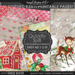 Quickity Split Refill {Sweet December Collection}