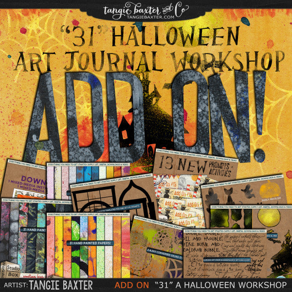 {31} A Halloween Workshop {ADD ON}