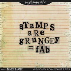 School Room Stamps and Brushes