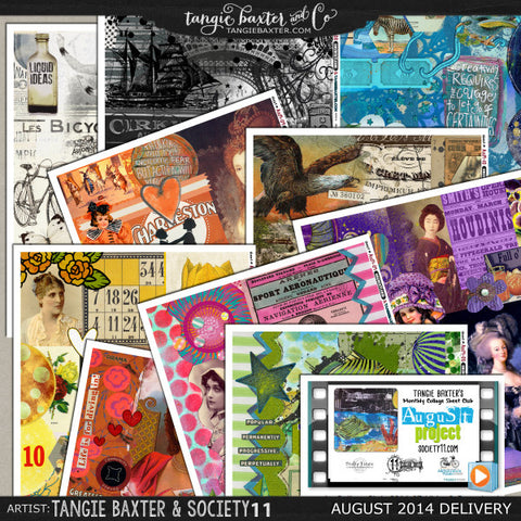 -Collage Sheet Workshop #02 {August '14 Delivery}