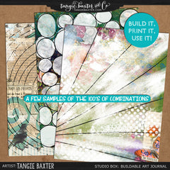 Studio Box: Buildable, Printable Art Journal