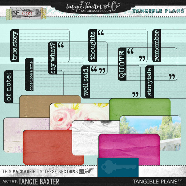 Tangible Plans™ {Add On No. 002}