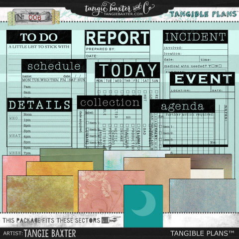 Tangible Plans™ {Add On No. 006}