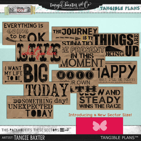 Tangible Plans™ {Add On No. 007}