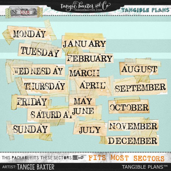 Tangible Plans™ {Add On No. 038}