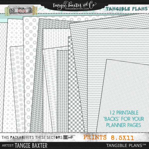 Tangible Plans™ {Add On No. 039}