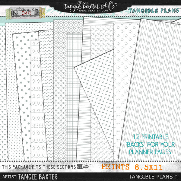 Tangible Plans™ {Add On No. 040}