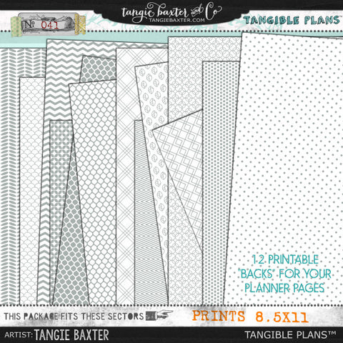 Tangible Plans™ {Add On No. 041}