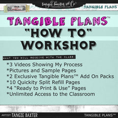 "Tangible Plans™ 2015 ""HOW TO"" Workshop"
