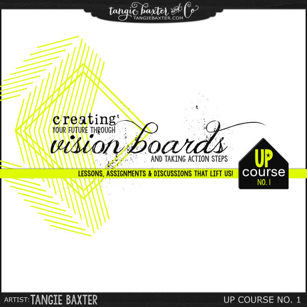 UP Course No. 01 {Creating Vision Boards}