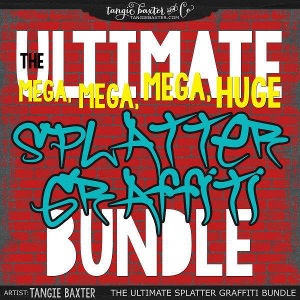 The ULTIMATE Splatter Graffiti Bundle!