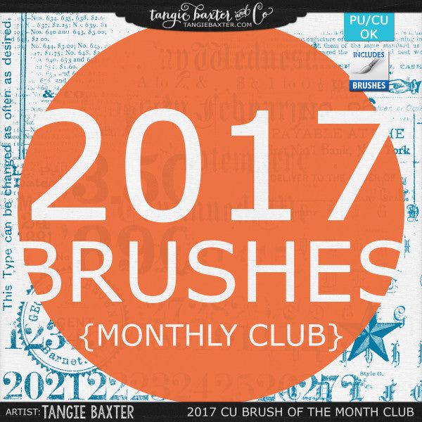 2017 Brush of the Month Club {CU/PU}