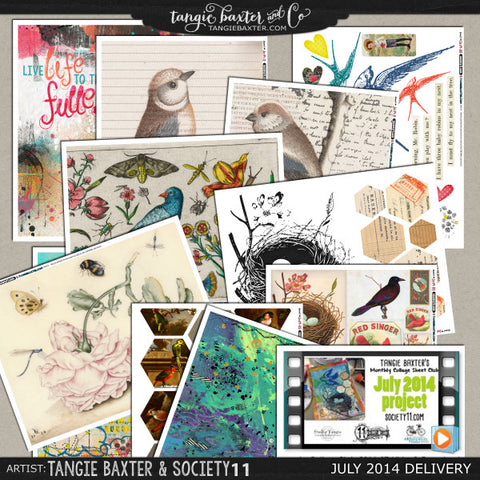 -Collage Sheet Workshop #01 {July '14 Delivery}
