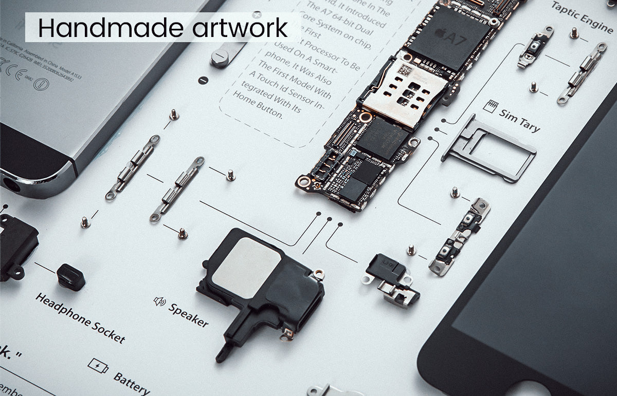 Disassemble iphone