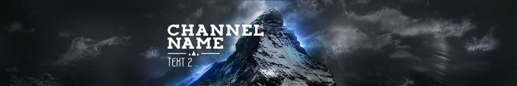 New YouTube Banner 'Mountain Top' Added!