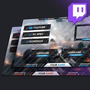 Twitch Overlays Collection