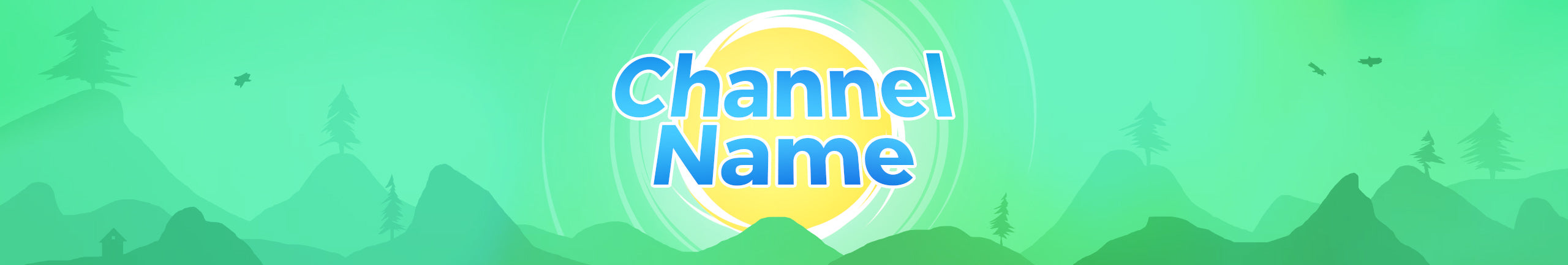 Free channel art template