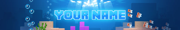 Underwater World - YouTube Channel Art Template