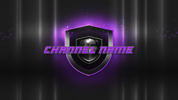 Champion Channel Banner Purple Fullscreen
