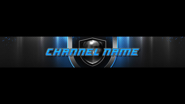 Champion Channel Banner Blue