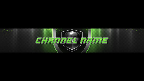Champion Channel Banner Green
