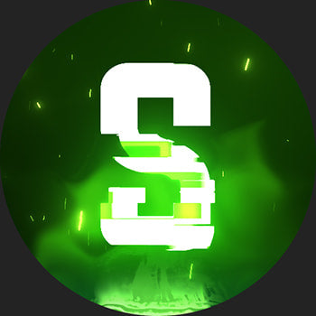 Glitch Discord Server Icon Green 2
