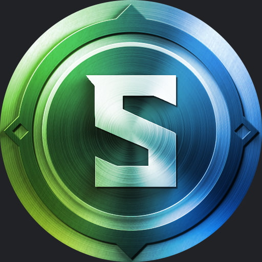 Medallion blue and green - Discord pfp