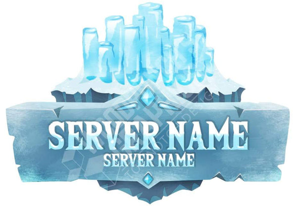 Frozen - Minecraft Server Logo