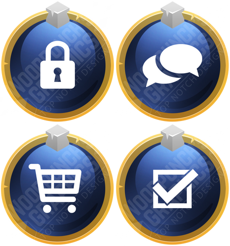 Golden - Portal Icons