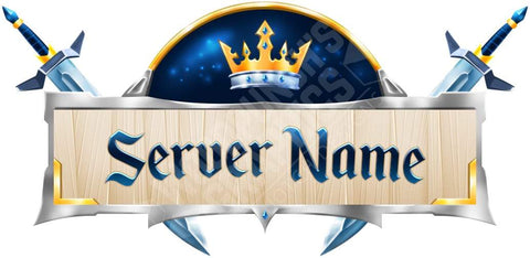 Luxury - Minecraft Server Logo