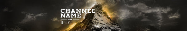 Mountain Top - YouTube Channel Art Template