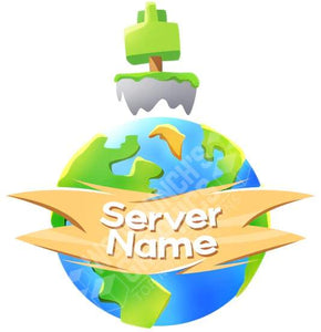 Planet Skyblock - Minecraft Server Logo