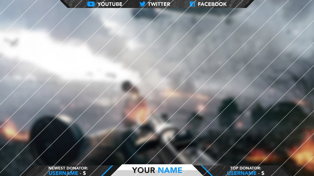 Sandstorm' - Deluxe Twitch Overlay Package – Woodpunch's