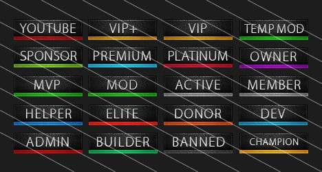 Sleek - Forum Rank Images