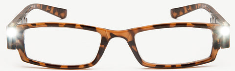 NiteSpecs: Tortoiseshell LED Readers