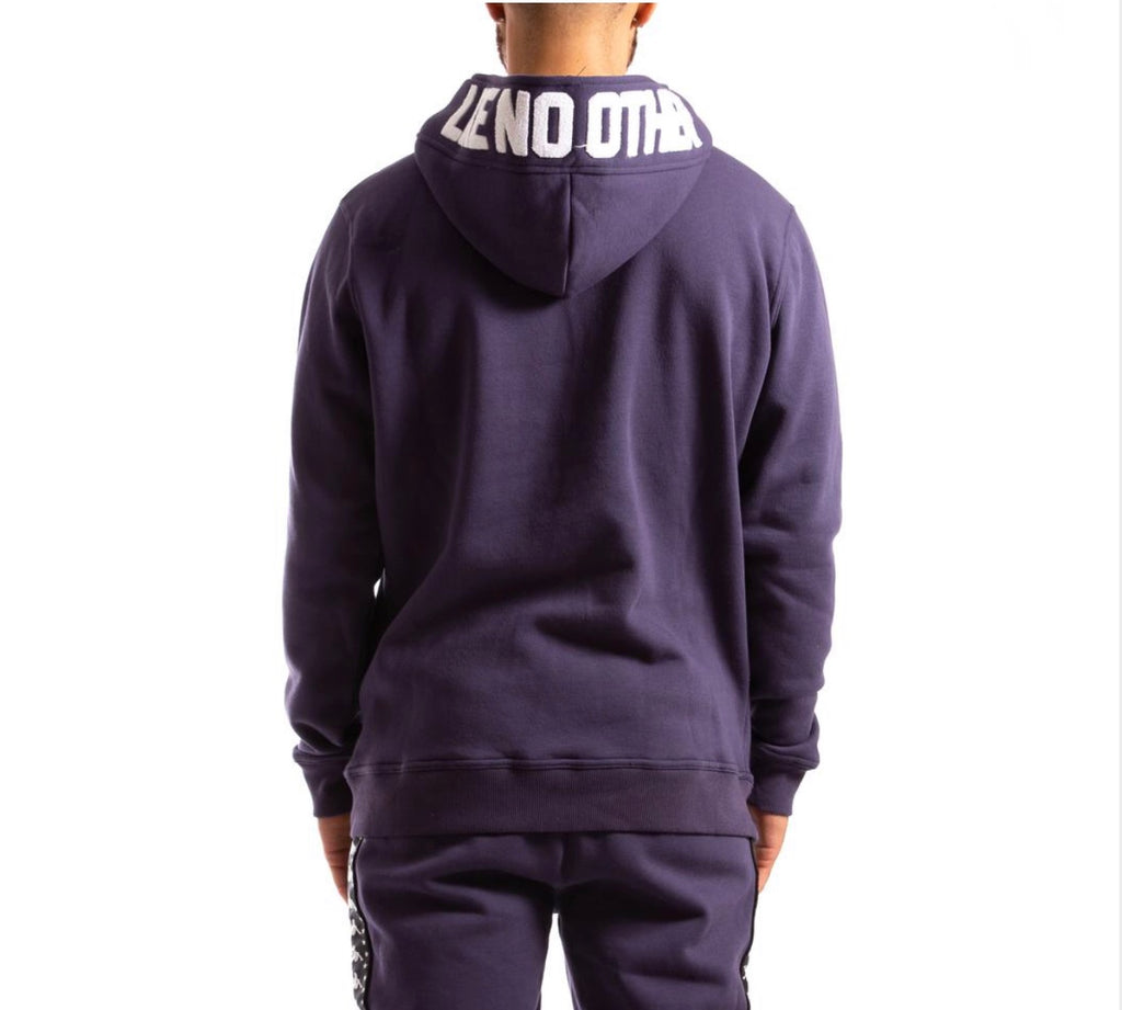 Kappa Authentic Bzalent Hoodie In Blue Greystone