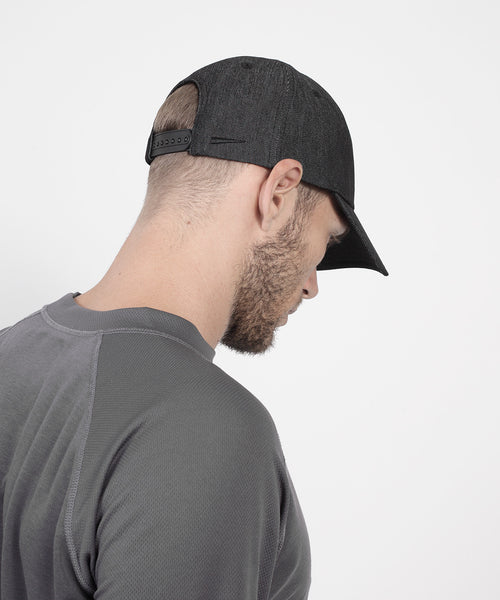 Baseball Denim Cap (Black)