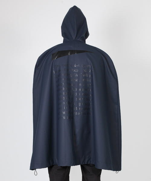Civil Poncho - Navy