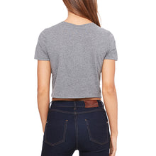 Bella Canvas Ladies' Poly-Cotton Crop T-Shirt