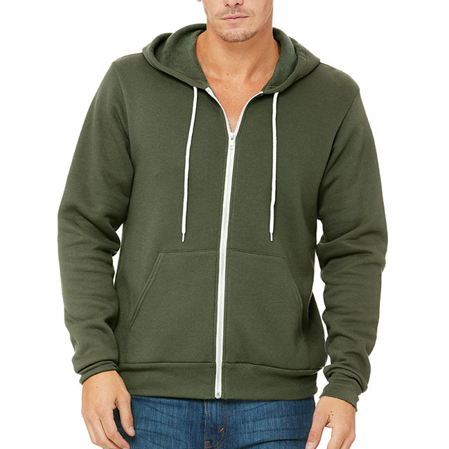Bella Canvas Full Zip-up Hoodie
