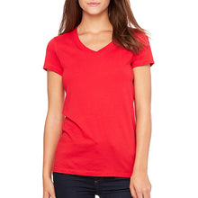 Bella Canvas Ladies' V-Neck Shirt