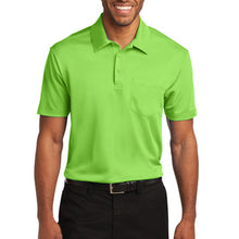 Port Authority Silk Touch Performance Pocket Polo