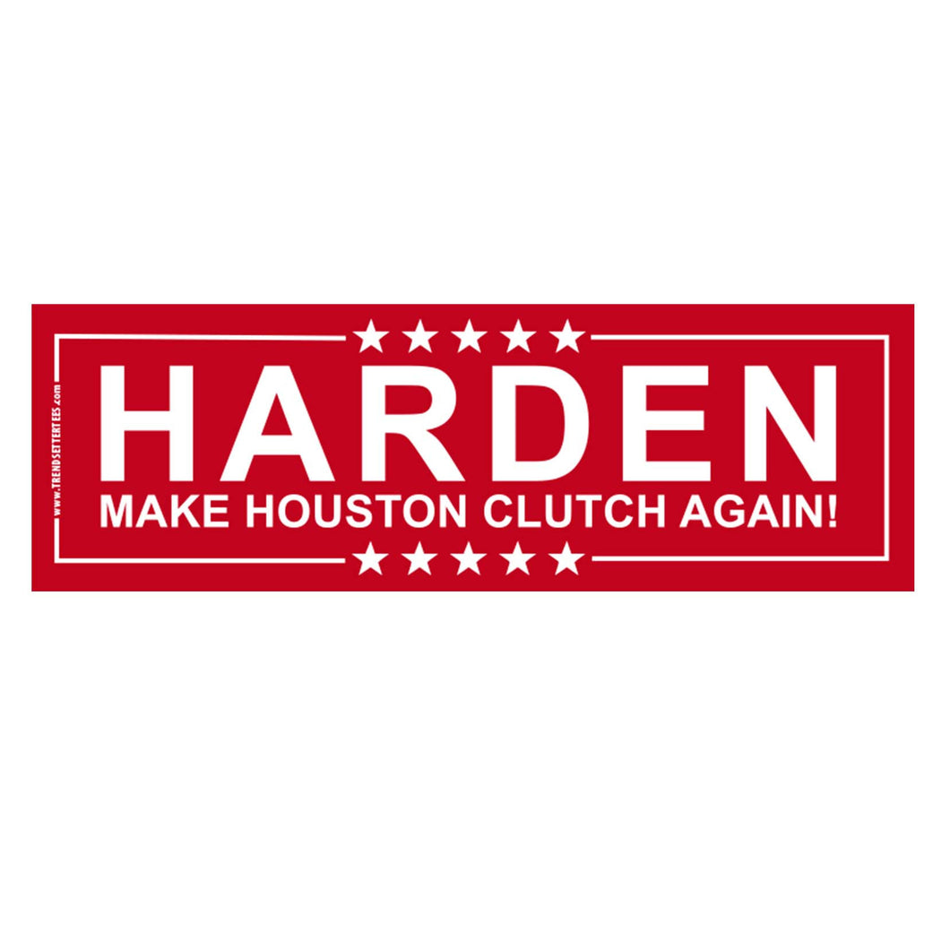Harden Bumper Sticker