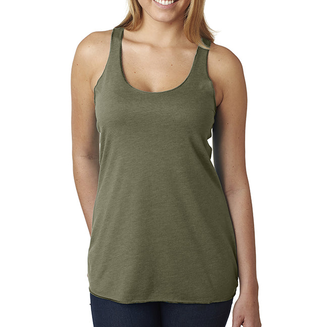 Next Level Triblend Racerback Tank