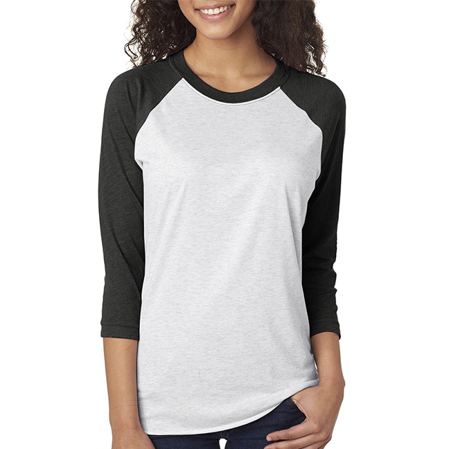 Next Level Unisex Triblend Raglan 3/4 Sleeve
